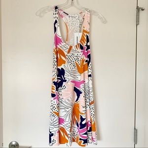 NWT Fighting Eel Pink Cut Out Dress Nova